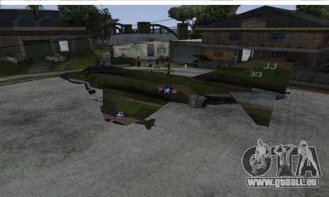 F-4 Vietnam War Camo pour GTA San Andreas laissé vue