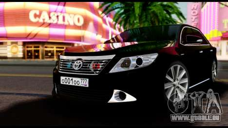 Toyota Camry 2013 pour GTA San Andreas
