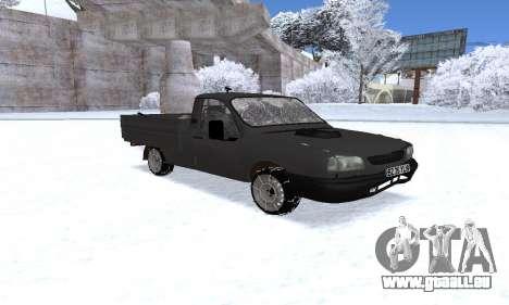 Dacia 1305 Papuc Pick-Up Drop Side 1.9D pour GTA San Andreas