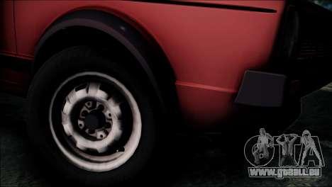 Volkswagen Golf Mk1 GTD pour GTA San Andreas sur la vue arrière gauche