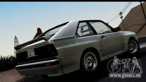 Audi Sport Quattro B2 (Typ 85Q) 1983 [HQLM] für GTA San Andreas linke Ansicht