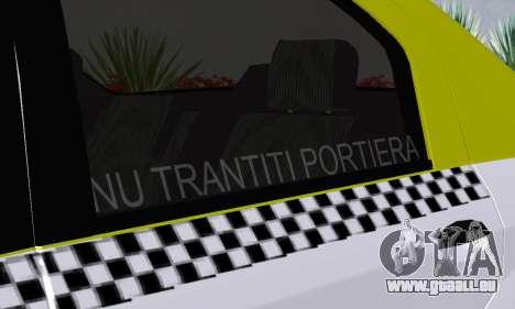 Dacia Logan Taxi pour GTA San Andreas