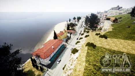 Karte der französischen Riviera v1.2 für GTA 4 sechsten Screenshot