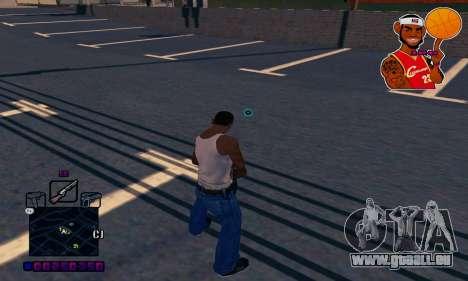 C-HUD Basketball pour GTA San Andreas troisième écran