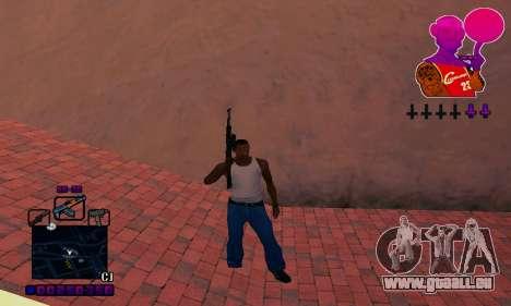 C-HUD Basketball pour GTA San Andreas quatrième écran
