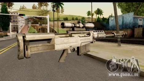 Accuracy International AS50 .50 BMG für GTA San Andreas zweiten Screenshot