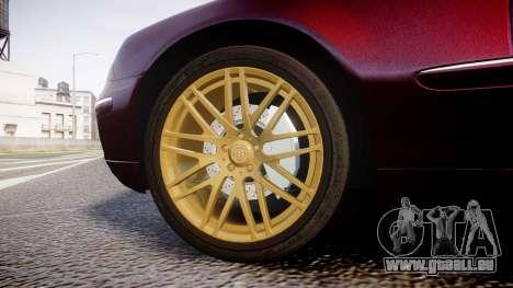 Mercedes-Benz S600 W220 für GTA 4 Rückansicht