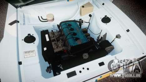 Ford Escort RS1600 PJ76 pour GTA 4 Vue arrière
