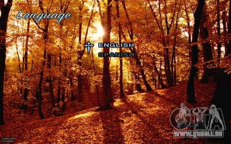 Herbst-Menü für GTA San Andreas her Screenshot