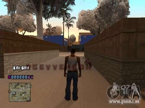 C-PALETTE de Cœur pour GTA San Andreas deuxième écran
