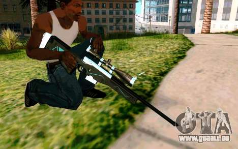Blue Line Sniper für GTA San Andreas her Screenshot