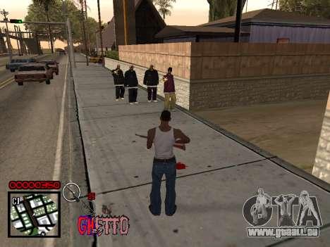 C-HUD by Jones pour GTA San Andreas deuxième écran