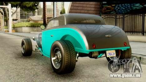 GTA 5 Hotknife GT pour GTA San Andreas laissé vue