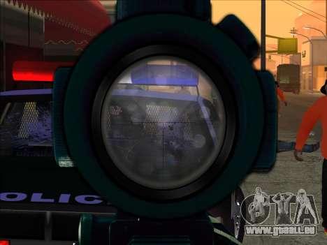 Sniper Skope Mod FIX pour GTA San Andreas deuxième écran