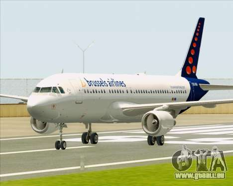 Airbus A320-200 Brussels Airlines pour GTA San Andreas