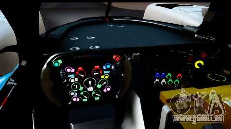 Toyota TS040 Hybrid 2014 für GTA San Andreas zurück linke Ansicht