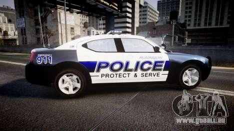 Dodge Charger 2006 Algonquin Police [ELS] pour GTA 4 est une gauche