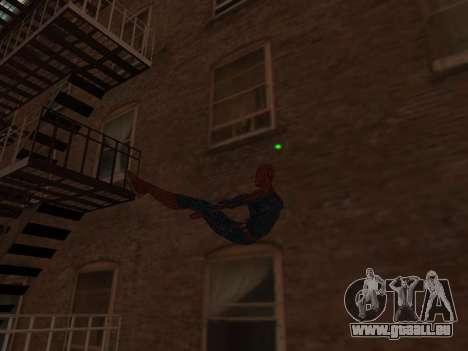 Spiderman Swinging v2.1 für GTA San Andreas dritten Screenshot