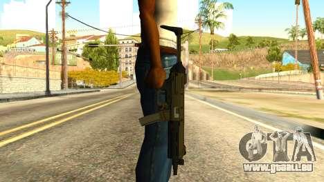 MP5 from GTA 5 für GTA San Andreas dritten Screenshot