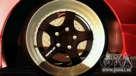 Toyota Celica GT-Four für GTA San Andreas Rückansicht