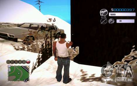 C-HUD by Jeremy Wilsher pour GTA San Andreas