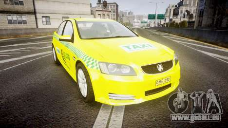 Holden Commodore Omega Series II Taxi v3.0 pour GTA 4