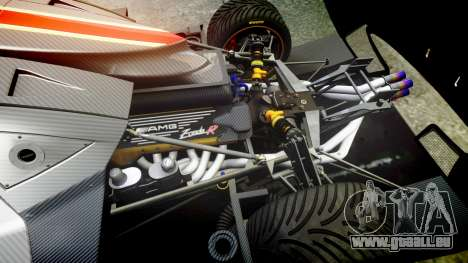 Pagani Zonda Revolution 2013 für GTA 4 Innenansicht