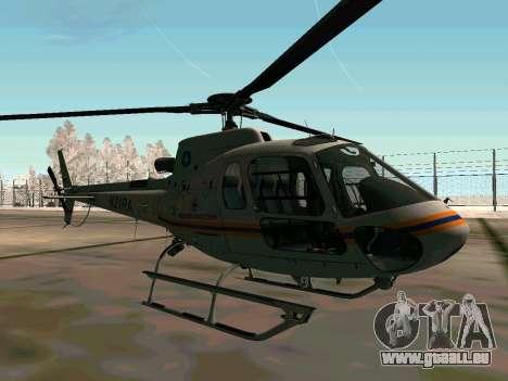 Bo 105 EMERCOM de Russie pour GTA San Andreas vue arrière