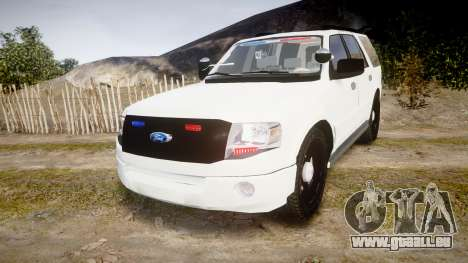 Ford Expedition West Virginia State Police [ELS] für GTA 4