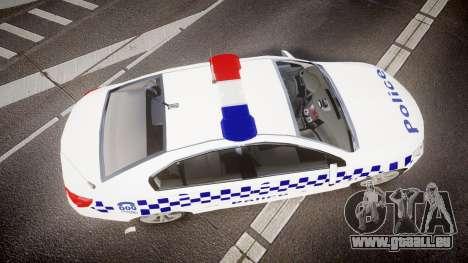 Holden VF Commodore SS Victorian Police [ELS] für GTA 4 rechte Ansicht