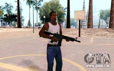 M4A1 (Dodgers) pour GTA San Andreas