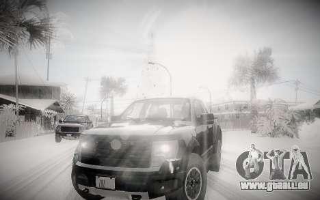 L'Hiver 2.0 ENBSeries pour GTA San Andreas deuxième écran