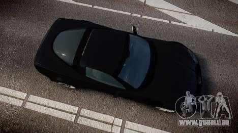 Chevrolet Corvette Z06 Unmarked Police [ELS] pour GTA 4 est un droit
