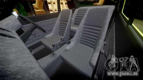 Ford Escort RS1600 PJ40 pour GTA 4 est un côté