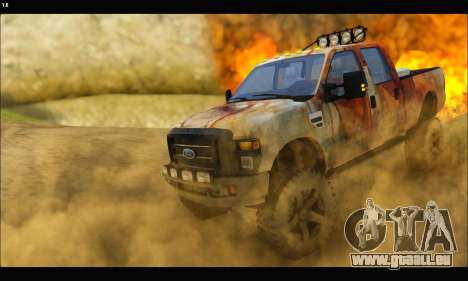 Ford F-250 Rusty Lifted 2010 für GTA San Andreas