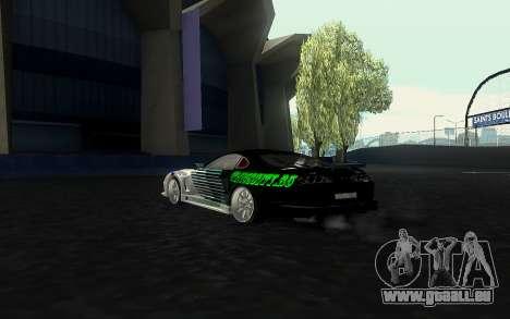 Toyota Supra VCDT pour GTA San Andreas laissé vue