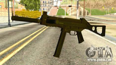 UMP45 from Global Ops: Commando Libya pour GTA San Andreas