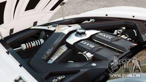 Aston Martin One-77 2010 [EPM] pour GTA 4 est un droit