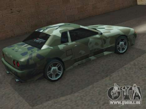 Elegy GTR pour GTA San Andreas laissé vue