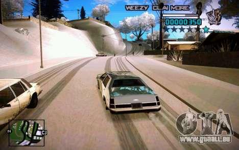 HUD by Weezy für GTA San Andreas