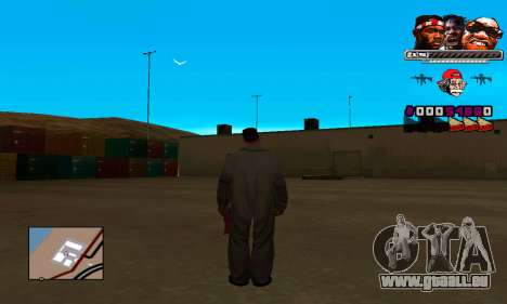 C-HUD Will pour GTA San Andreas