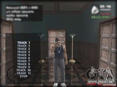 MP3 Player MOD pour GTA San Andreas