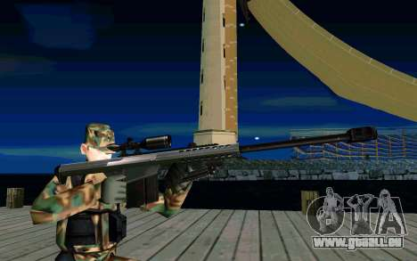Barret M107 für GTA San Andreas
