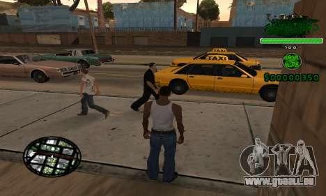 C-HUD Grove St. Family für GTA San Andreas