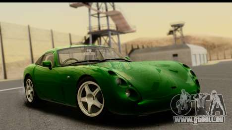 TVR Tuscan S 2001 für GTA San Andreas
