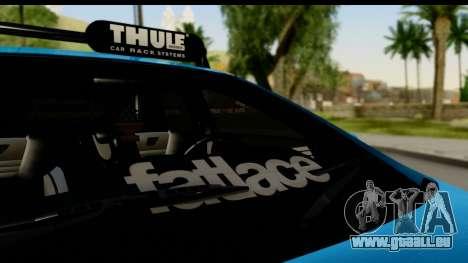Ford Focus ST für GTA San Andreas Rückansicht