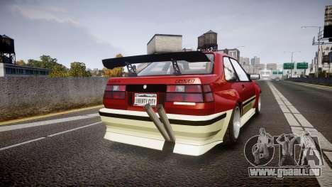 Karin Futo Drift X für GTA 4 hinten links Ansicht