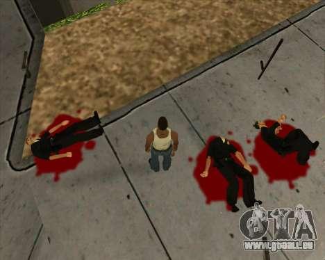 Einstellungen Ragdoll für GTA San Andreas fünften Screenshot
