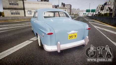 Ford Custom Fordor 1949 für GTA 4 hinten links Ansicht