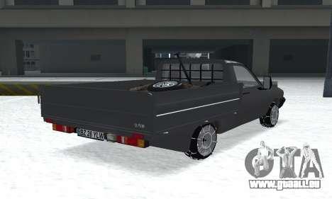 Dacia 1305 Papuc Pick-Up Drop Side 1.9D pour GTA San Andreas laissé vue